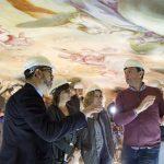 Las pinturas murales de Vergara en el Monasterio de El Puig recuperan su aspecto original