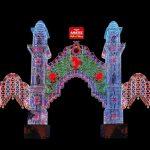 Horario de los encendidos de las luces de Fallas de este viernes 10 de marzo