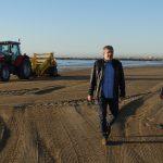 Las playas están en proceso de limpieza para que estén listas en fallas y pascua