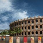 La plaza de Toros será visible desde el pasaje Doctor Serra